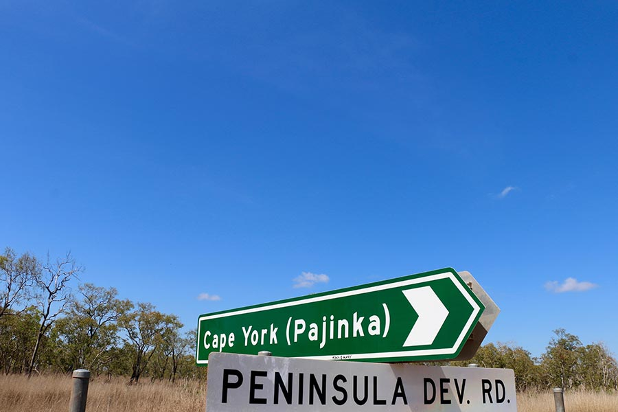 Cape York Road Signs