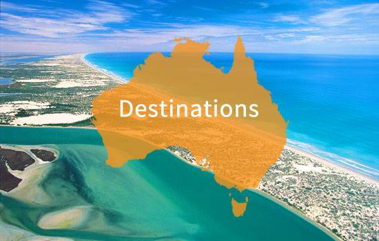 View our Australia destinations