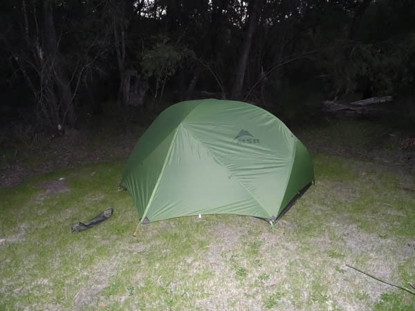 Luke Yates Reviews MSR Hubba Hubba Tent