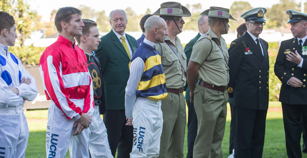 ANZAC Day Featuring VRC St Leger