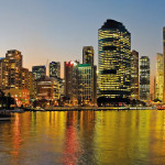 Brisbane at Night Queensland Australia
